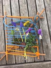 Frühlingswebrahmen